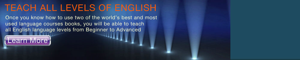 Teach All levels of English
